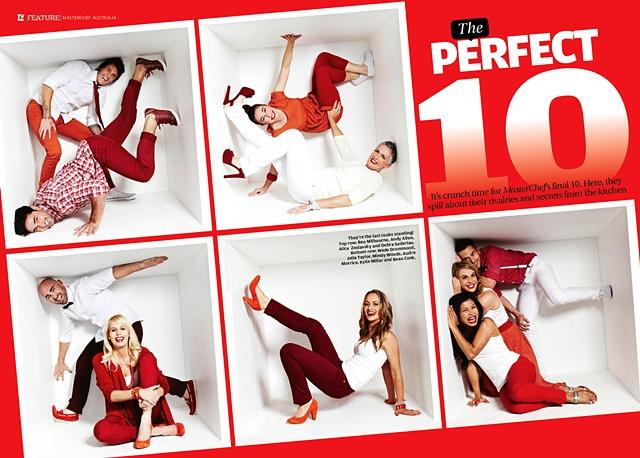 TV Week - Masterchef Top 10 2012