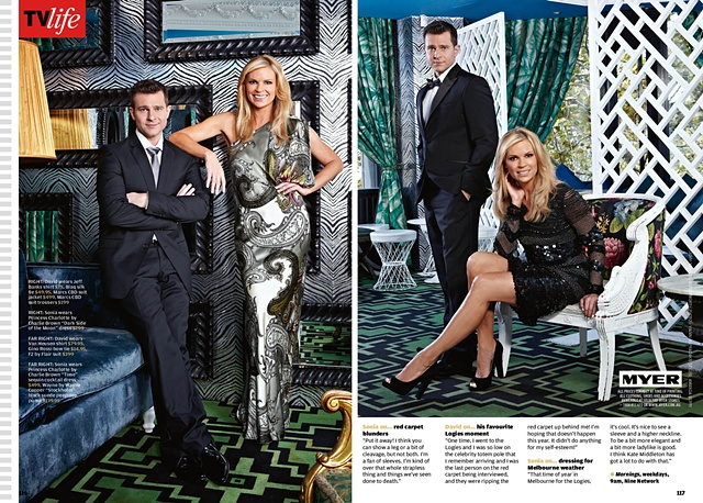 TV Week - Sonia Kruger and David Campbell: Mornings with Sonia and David