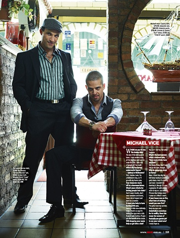 Ralph Magazine - Underbelly: The Golden Mile cast
