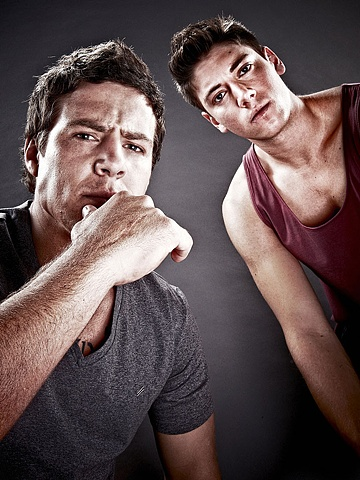 TV Week - Steve Peacocke and Lincoln Younes: Home and Away