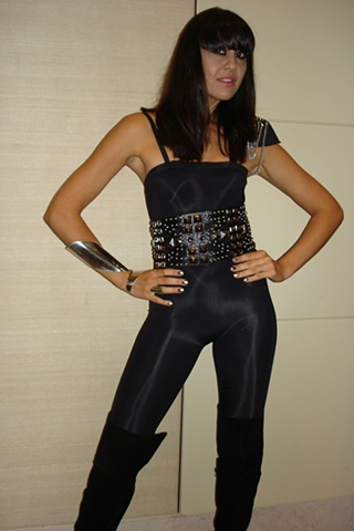 Logies 2010 - Mindi Jackson of the Rogue Traders stage performance outfit