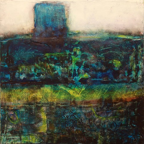 Blue Tower  (SOLD)