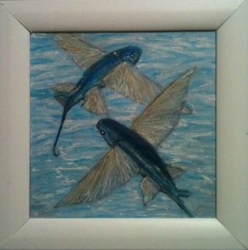 post it art, commisions, small art, framed art, gifts