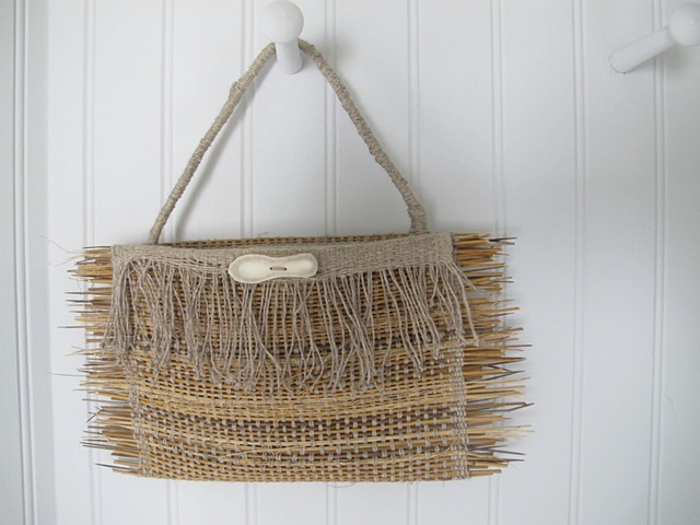 Marsh grass purse (not for sale)