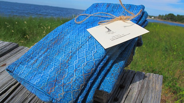 Hand Painted and Handwoven XL Cotton Napkins