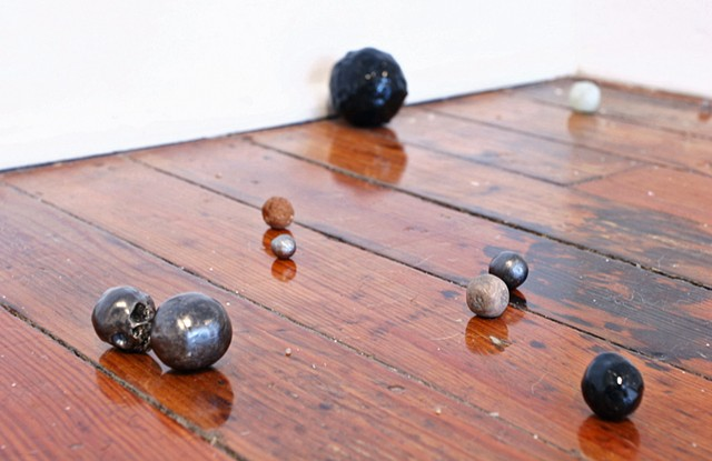 marbles (installation view)