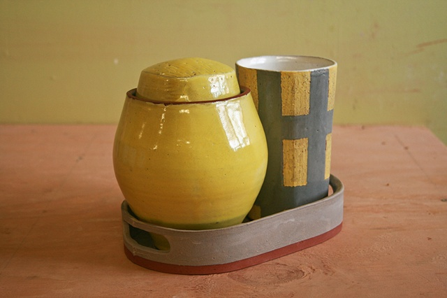 alfred, pottery, ceramics, earthenware, design, alex reed