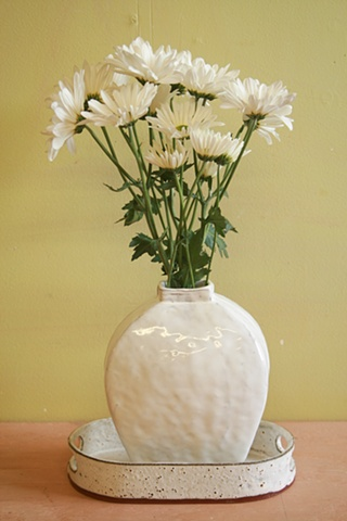 pottery, alex reed, alfred, pottery, design, clay, glaze, flowers, blog, gallery, tray