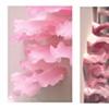 "Jasmyne Graybill  Rot Glycerin soap, rayon fibers 58"" x 32"" x 7"""