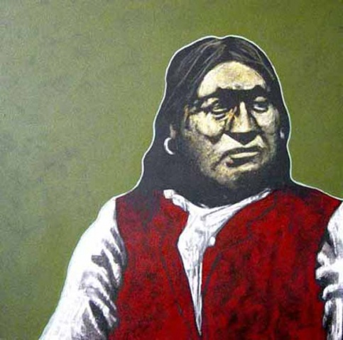 """""""Cheever - Comanche Portrait"""""""