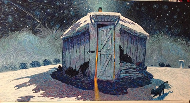 """Hogan in Deep Winter"""