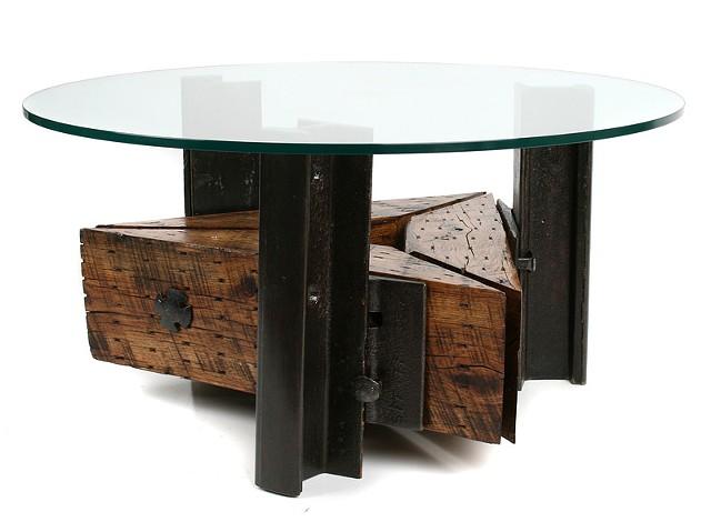 """Triangle Coffee Table"""