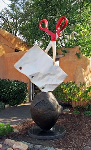 """""""Rock, Paper, Scissors"""" [Monument]"""