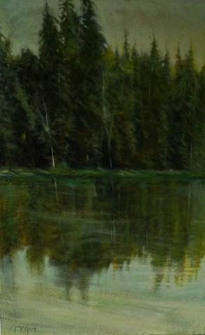 """""""Wyoming Lake Study"""""""