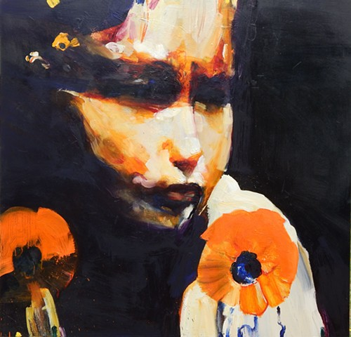 """Child with Poppies"""