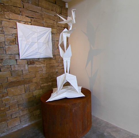 """Crane Unfolded' Phoenix Rising"""