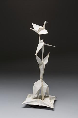 """""""Crane Unfolding"""" [Maquette]"""