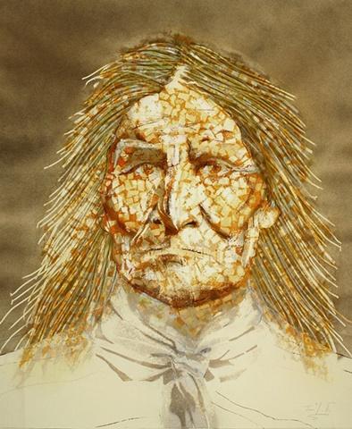 """Geronimo in Sepia"""