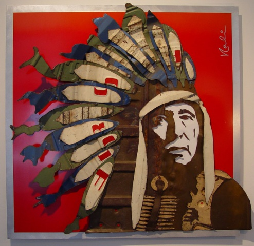 """Native American Chief, Yellow Owl"""