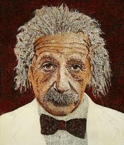 """""""Einstein in Red"""""""