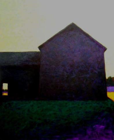 """""""Gray Barn, Green Sky"""""""