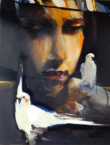 """""""Yeva with Birds"""""""
