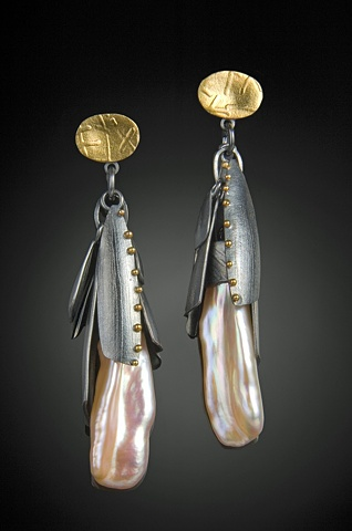 """Long Flora Earrings"""
