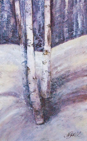 """Three Birch """
