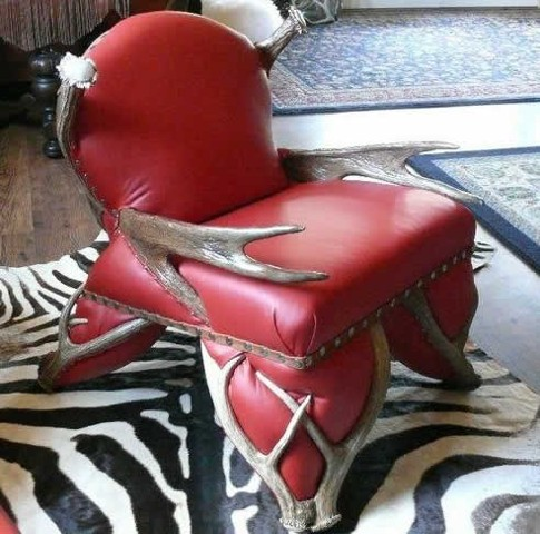 """Low Back Moose Chair"""