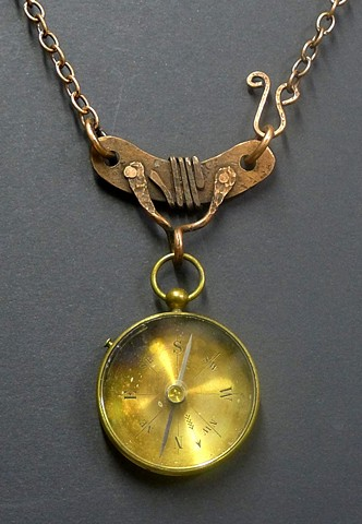 """19th Century Pocket Compass"""