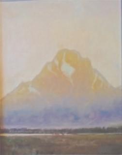 """""""Evening at Mount Moran"""""""
