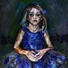 """Ballerina in Blue"""