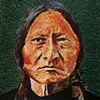 Sitting Bull in Green