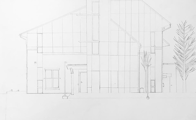 Perspective Architectural Drawing 2017