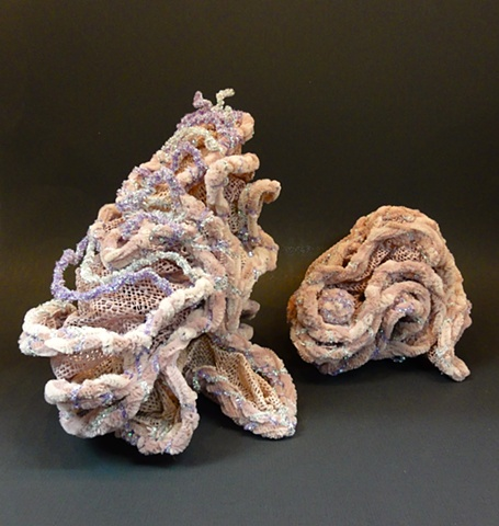 Small chenille stem sculptures