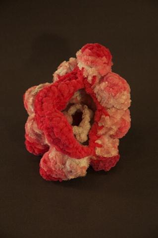 Small chenille stem sculpture