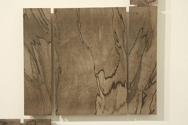 Unfolding a Block of Wood Detail