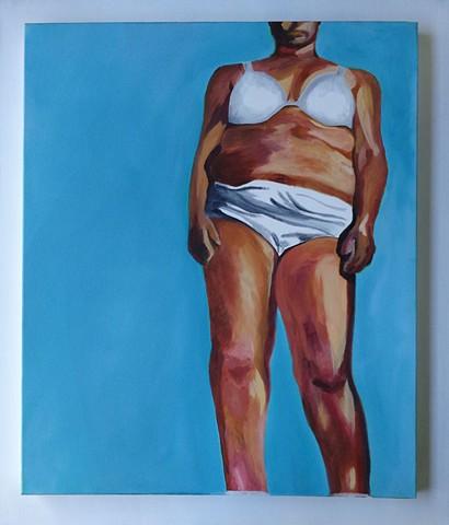 Woman in Underwear I