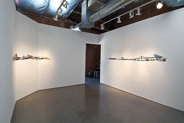 To The Ocean (Installation view)