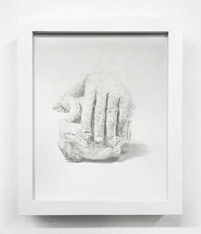 Drawing of Limestone Hand