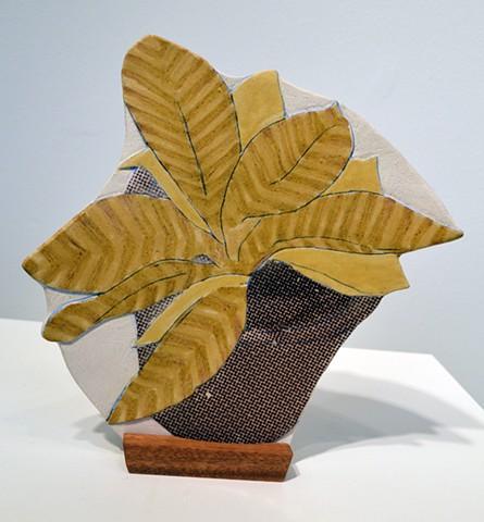 Souvenirs: Facade 3, stoneware