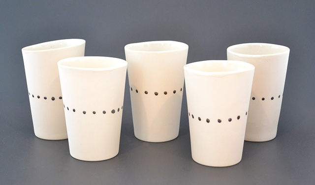 Bronze Dot Cups