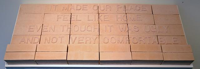 Souvenirs: Like home (even though) Belden brick