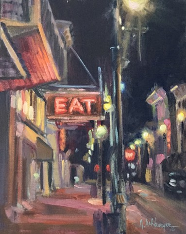 Maysville, Ky nocturne, Eat gallery