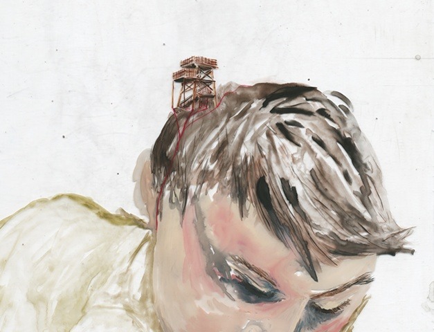 When we hug, I remember I'm not making this up (detail)
