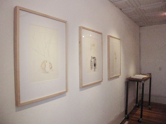 I DON'T FEEL LIKE IT (installation view)