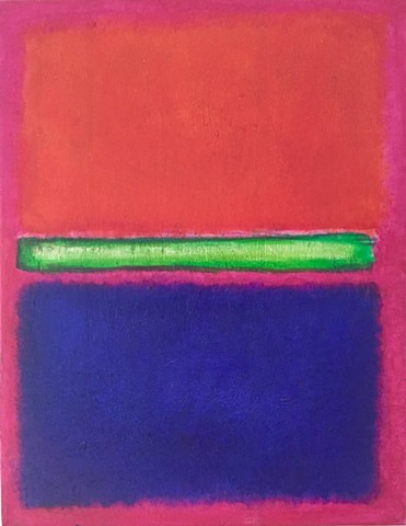 My Own Rothko (In Progress)