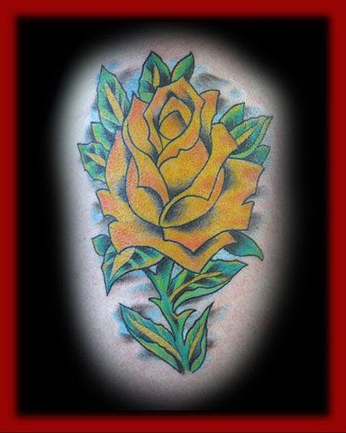 Rose/Fort City Tattoo