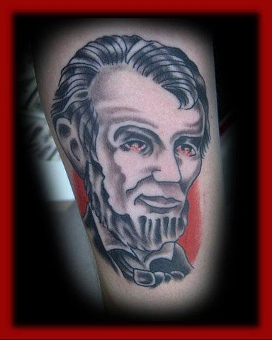 abe lincoln Fort City Tattoo