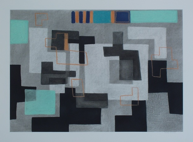 Kevin McDevitt's works on paper, abstract